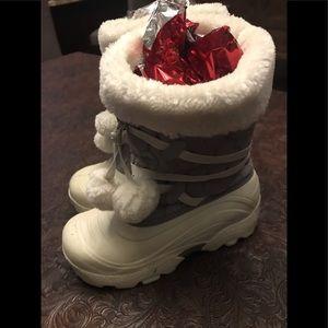 Khombu girls winter snow boots